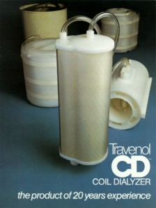 CD 1000 and CD 1400 coil dialyzers: 1978