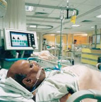 Man in ICU