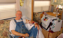 Bill doing Daily Home Hemodialysis